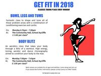 Would you like to GET FIT, TONE UP, LOSE WEIGHT & feel motivated? Come & join our fitness classes