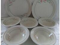 Set of Bowls and Plates