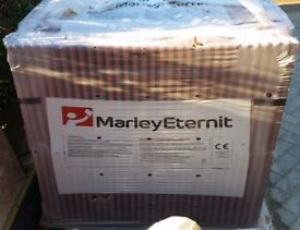 MARLEY ETERNIT OLD ENGLISH DARK RED ROOF TILES (200+ NEW TILES)