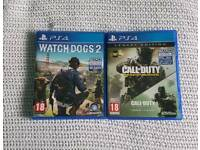 PS4 GAMES BRAND NEW ONLY OPEN
