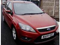 Ford Focus 1.6 Zetec 5dr£3,945 p/x welcome FREE WARRANTY. NEW MOT