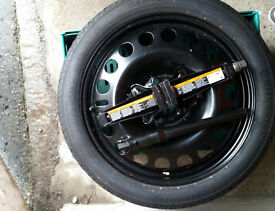 NEW Spare wheel( R17) KIT (Continental tyre)