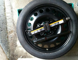 NEW Spare wheel (R17) + tools. Continental tyre.