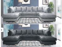 EXPRESS DELIVERY! LARGE ANCONA U-SHAPE CORNER SOFA IN DIFFERENT COLORS | FINANCE AVAILABLE