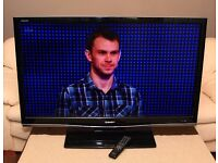 """Very nice 46"""" SHARP AQUOS FULL HD TV, fully working with remote."""