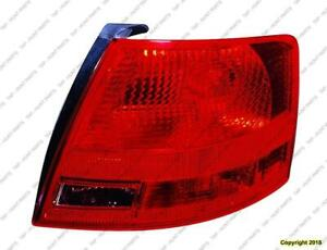 Tail Light Driver Side Wagon High Quality Audi A4 2005-2008