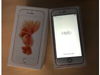 Iphone 6s Rosegold good condition