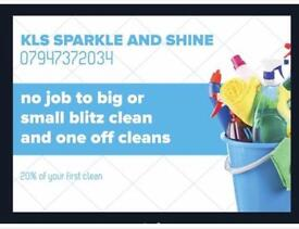 KLS SPARKLE AND SHINE CLEANING SERVICES