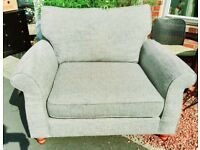 NEXT love seat armchair great condition
