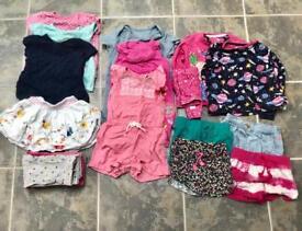 12-18m girls summer bundle
