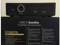 UNIVERSAL AUDIO UAD2 OCTO TB Satellite with LOADS PLUGINS INCLUDED