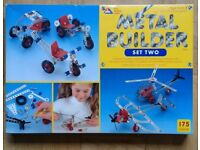 ELC Metal-Builder set 2 , 5 models.