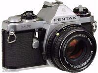 Pentax ME SLR Camera w/ 50mm 1.7 Lens