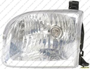 Head Light Driver Side Sequoiautomatic Transmissionundra Double Cab High Quality Toyota Sequoia 2001-2004