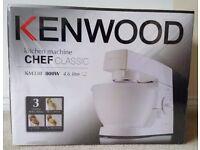 Kenwood KM330 Stand Mixer White Brand New Sealed Box £100