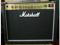 Marshall DSL40C Guitar Amp. Mint condition all-valve (tube) 2 channel 40 watt combo with footswitch