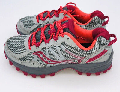 - SAUCONY Women's Grid Excursion TR11 Grey Pink Sneakers Trail Shoes $109.99