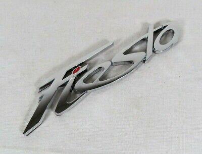 FORD FIESTA EMBLEM 11-19 REAR TRUNK CHROME BADGE back sign logo symbol name