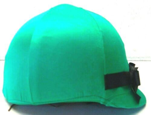 Kelly Green w/ Black Bow Helmet Helpers Equestrian Helmet Cover Horse Tack