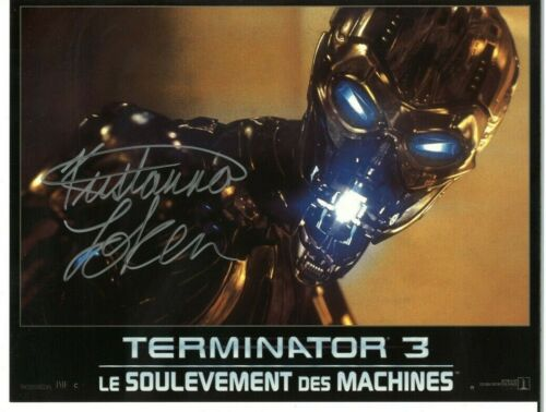 TERMINATOR 3 Rise of the Machines French Lobby Cards - Signed Kristanna Loken