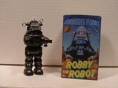Masudaya Forbidden Planet Wind Up Robby The Robot in Original Box