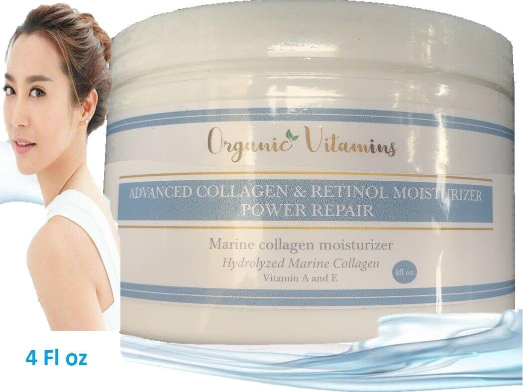 Crema Colageno Para La Cara y Cuello Crema Facial Anti Arrugas De Colageno Puro 2