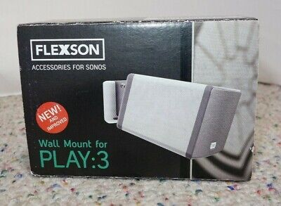 Flexson wall mount for SONOS PLAY:3 - WHITE, OPEN BOX