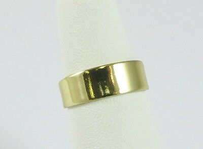 New Wholesale Toe Ring 14K Gold Plate Fashion Jewelry Adjustable Size Wide Band
