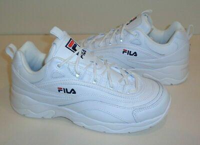 Fila Women's Sz 6.5 Disarray Sneakers Shoes  White