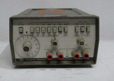 Hewlett Packard Hp 3311a Function Generator Tested Working