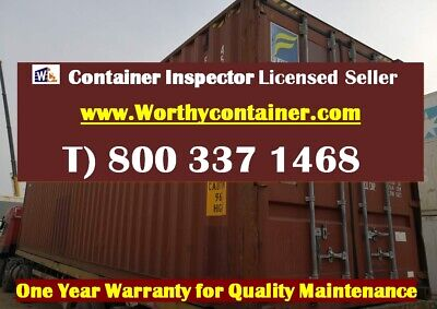 40 High Cube Shipping Container 40ft Hc Cargo Worthy - Jacksonville Fl