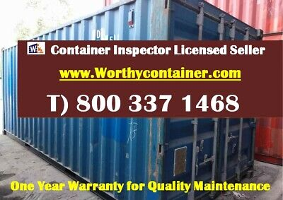 20 Cargo Worthy Shipping Container 20ft Container In Dallas Tx-free Delivery
