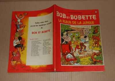 BD Vandersteen Bob & Bobette n°97 Fleur de la jungle EO 1969