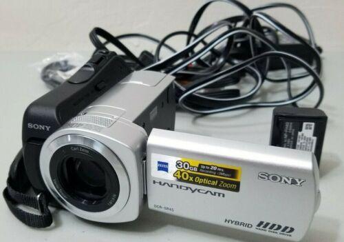 Sony DCR-SR45 30 GB Digital Camcorder *GOOD/TESTED*