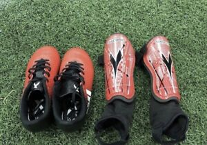 Youth Soccer shoes & pads