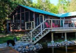 Haliburton Cottage Rental at Water's Edge