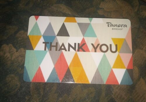 Panera Used Collectible Gift Card NO VALUE SV1801040 - $1.68