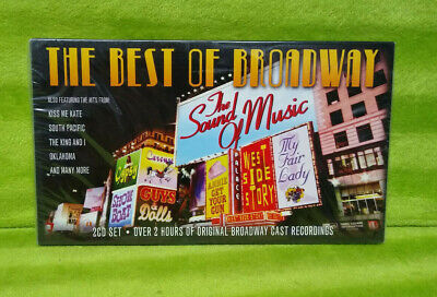 The Best Of Broadway 2 CD Set - Original Cast Recordings - BRAND (Best Of The Best 2 Cast)