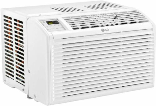 LG Window Air Conditioner with Remote Control - White (LW6017R) OPEN BOX