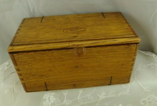 Vintage Singer Folding Puzzle Box with Attachments