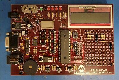 Microchip Picdem 2 Plus Demo Board 02-01630-r5