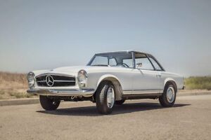 Mercedes sl pagoda 1950-1972 wanted