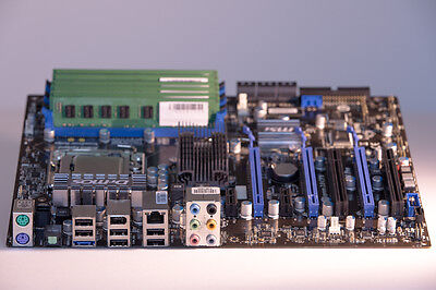 Aufrüstkit MSI X85 Pro Mainboard + i7-920 Intel CPU + 6x 2GB RAM