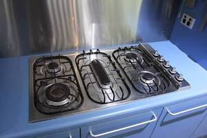 Ilve 5 burner gas cooktop - stainless steel. Somers Mornington Peninsula Preview