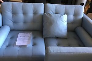 Sky blue sofas Greenacre Bankstown Area Preview