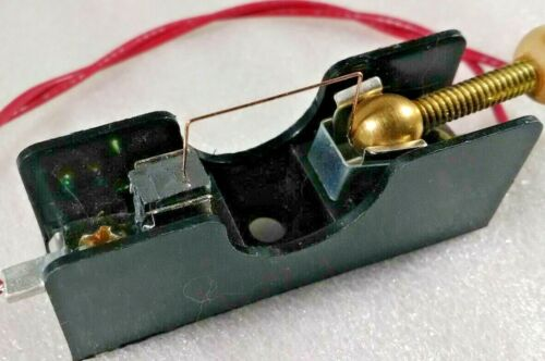 Black Base Crystal Radio Diode Detector Stand Galena Crystal Cats Whisker-CW2