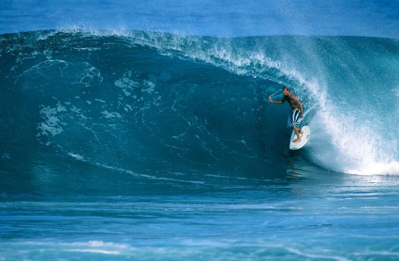 """Andy Irons 12x18"""" at Backdoor (Hawaii)"""