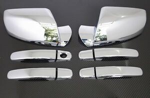 2010-2014-CHEVY-EQUINOX-GMC-TERRAIN-CHROME-DOOR-HANDLE-MIRROR-COVER