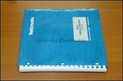 Tektronix 2213 Oscilloscope Original Printed Service Manual Tek 070-3827-00