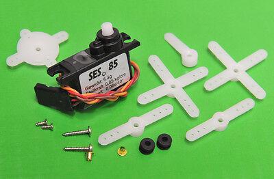 Simprop Servo SES 85 - 23x10x22 mm - 8,5 Ncm - nur 6 g